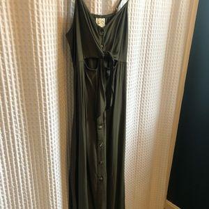 Target Dark Green Dress.